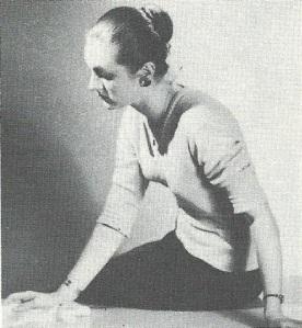 John's childhood friend Diana Ernaelsteen in 1958 aged 23